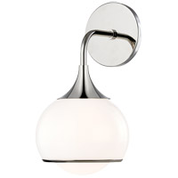 Mitzi H281301-PN Reese 1 Light 7 inch Polished Nickel Wall Sconce Wall Light
