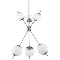 Mitzi H282806-PN Remi 6 Light 24 inch Polished Nickel Chandelier Ceiling Light