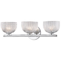 Mitzi H283303-PC Sabrina 3 Light 20 inch Polished Chrome Wall Sconce Wall Light