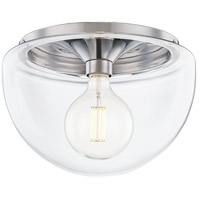 Mitzi H284501L-PN Grace LED 14 inch Polished Nickel Flush Mount Ceiling Light