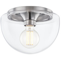 Mitzi H284501S-PN Grace 1 Light 10 inch Polished Nickel Flush Mount Ceiling Light
