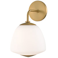 Mitzi H288101-AGB Jane 1 Light 8 inch Aged Brass Wall Sconce Wall Light