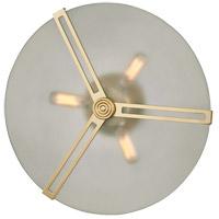 Mitzi H292503-AGB Boni 3 Light 15 inch Aged Brass Flush Mount Ceiling Light