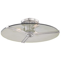 Mitzi H292503-PN Boni 3 Light 15 inch Polished Nickel Flush Mount Ceiling Light