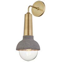 Mitzi H304101-AGB Macy 1 Light 6 inch Aged Brass Wall Sconce Wall Light