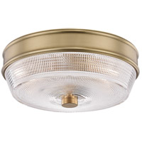 Mitzi H309501-AGB Lacey 2 Light 10 inch Aged Brass Flush Mount Ceiling Light