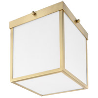Mitzi H317501-AGB Monica LED 8 inch Aged Brass Flush Mount Ceiling Light