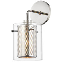 Mitzi H323101-PN Elanor 1 Light 6 inch Polished Nickel Wall Sconce Wall Light