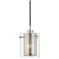 Mitzi H323701-PN Elanor 1 Light 6 inch Polished Nickel Pendant Ceiling Light