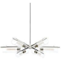 Mitzi H326806-PN Ariel 6 Light 40 inch Polished Nickel Chandelier Ceiling Light