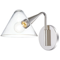Mitzi H327101-PN Isabella 1 Light 6 inch Polished Nickel Wall Sconce Wall Light