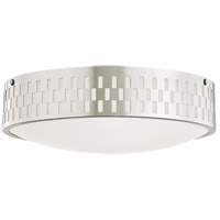 Mitzi H329503L-PN Phoebe 3 Light 14 inch Polished Nickel Flush Mount Ceiling Light