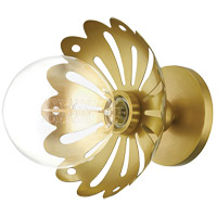 Mitzi H353101-AGB Alyssa 1 Light Aged Brass Wall Sconce Wall Light