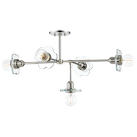 Mitzi H357805-PN Alexa 5 Light 28 inch Polished Nickel Chandelier Ceiling Light
