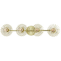Mitzi H359304-PB Serena 4 Light Polished Brass Bath Vanity Wall Light