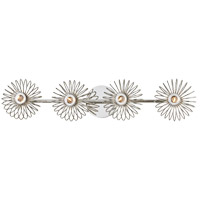 Mitzi H359304-PN Serena 4 Light Polished Nickel Bath Vanity Wall Light