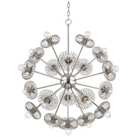 Mitzi H359819-PN Serena 9 Light 30 inch Polished Nickel Chandelier Ceiling Light