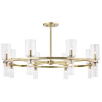 Mitzi H384816-AGB Tabitha 16 Light 34 inch Aged Brass Chandelier Ceiling Light
