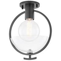 Mitzi H387601-OB Ringo 1 Light 9 inch Old Bronze Semi Flush Ceiling Light