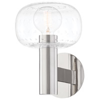 Mitzi H403301-PN Harlow 1 Light 7 inch Polished Nickel Wall Sconce Wall Light