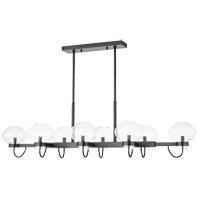 Mitzi H408908-OB Korey 8 Light 58 inch Old Bronze Linear Pendant Ceiling Light