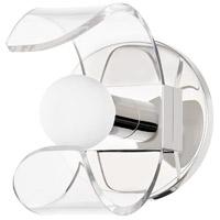 Mitzi H424301-PN Ora LED 6 inch Polished Nickel Bath and Vanity Light Wall Light