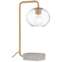 Mitzi HL280201-AGB Margot 21 inch 60 watt Aged Brass Table Lamp Portable Light