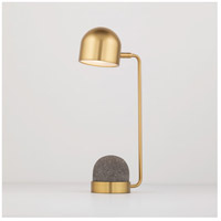 Mitzi HL298201-AGB Nikki 18 inch 4 watt Aged Brass Table Lamp Portable Light