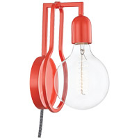 Mitzi HL343101-CRL Darcie 1 Light 6 inch Coral Wall Sconce Wall Light