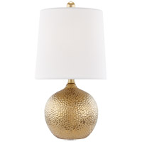 Mitzi HL364201-GD Heather 15 inch 40 watt Gold Table Lamp Portable Light