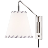 Mitzi HL372101-PN Hannah 1 Light 9 inch Polished Nickel Wall Sconce Wall Light