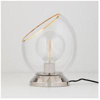 Mitzi HL442201-PN Claudia 12 inch 60.00 watt Polished Nickel Table Lamp Portable Light