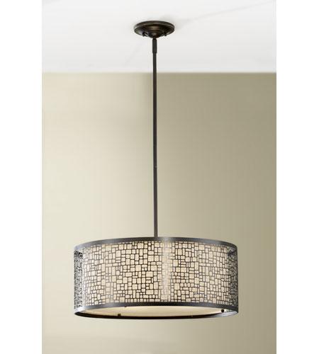 Feiss Joplin 3 Light Chandelier In Light Antique Bronze