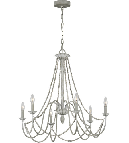 Washed Grey Steel Chandeliers