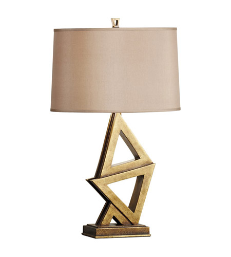 Feiss Xenia 1 Light Table Lamp in Firenze Gold 10018FG photo