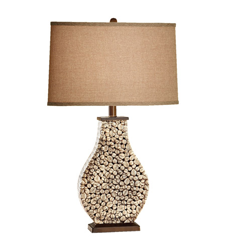 Feiss Independents 1 Light Table Lamp in Architectural Brown 10079ACB photo