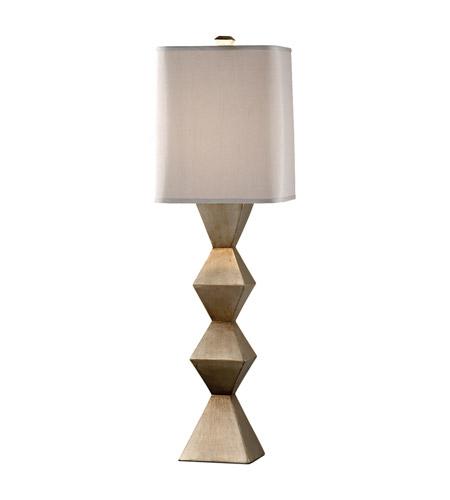 Feiss Dahlia 1 Light Table Lamp In Ebonized Silver 10126ebs