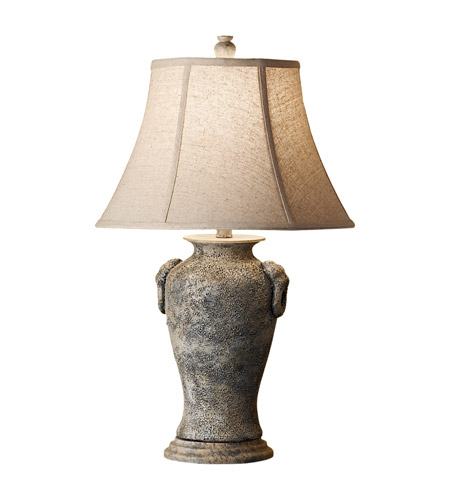Feiss Garden Relic 1 Light Table Lamp in Weathered Stone 10169WS photo