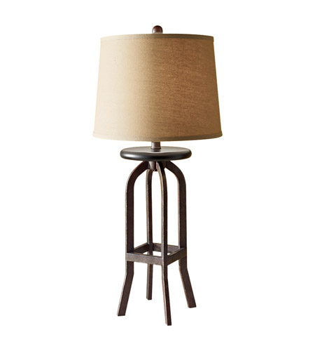 Feiss Kemster 1 Light Table Lamp in Spice 10179SP photo