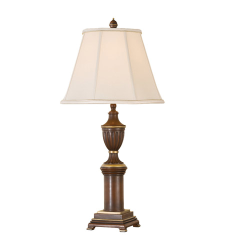 Feiss Claremonte 1 Light Table Lamp in Autumn Brown 9608AUB photo