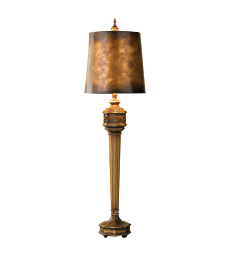Feiss Cordova 1 Light Table Lamp in Cinnabar 9860CNB photo