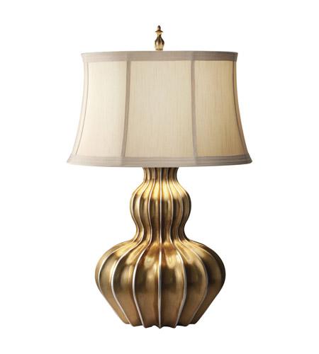 Feiss Kalinda 1 Light Table Lamp in Florentine Gold 9924FLG photo