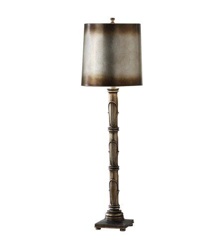 Feiss Independents 1 Light Buffet Lamp in Antique Silver Leaf 9944ASL photo