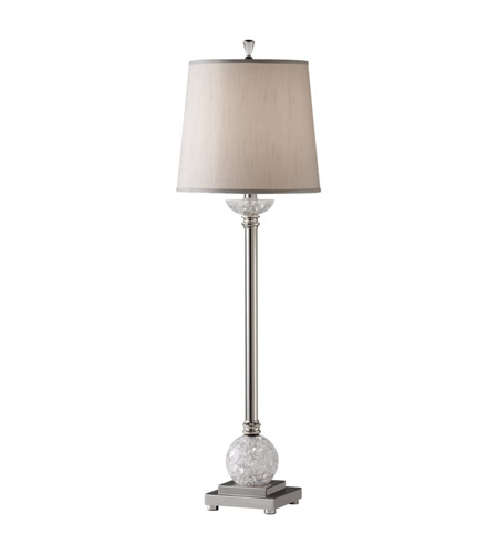 Feiss Independents 1 Light Buffet Lamp in Polished Nickel 9946PN/CCA photo