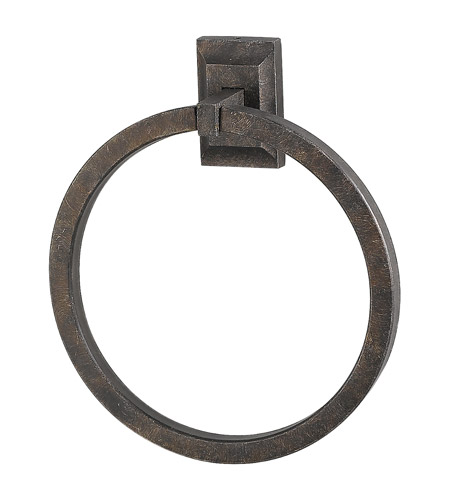Feiss Peruvian Bronze Bath Accessories Towel Ring in Peruvian Bronze BA2003PBR photo