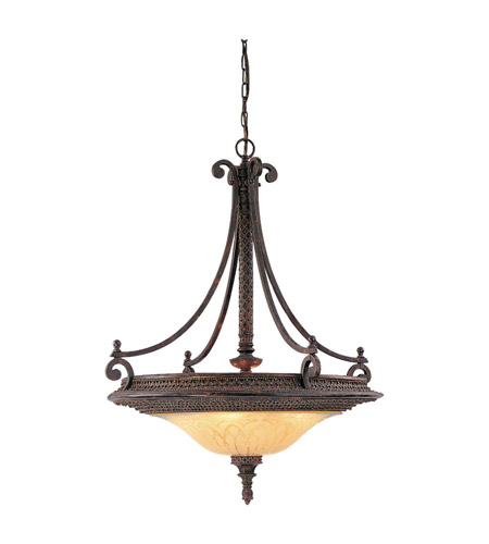 Discount Murray Feiss Lighting: Feiss Casbah 4 Light Chandelier In Palladio F1676/4PAL