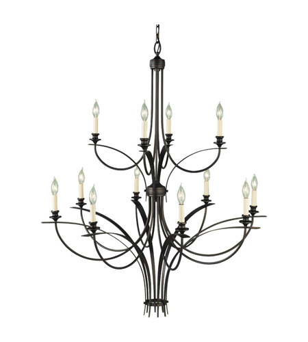 Feiss Boulevard 12 Light Chandelier in Oil Rubbed Bronze F1891/8+4ORB photo