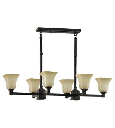 Feiss American Foursquare 8 Light Chandelier In Oil Rubbed Bronze F2215 6 2orb
