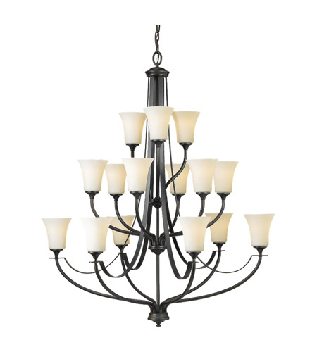 Feiss Barrington 15 Light Chandelier in Oil Rubbed Bronze F2254/6+6+3ORB photo