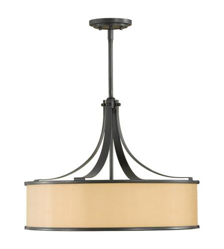 Feiss Casual Luxury 4 Light Chandelier in Dark Bronze F2343/4DBZ photo